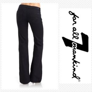 7 FAM Dojo Jeans in Black, New!